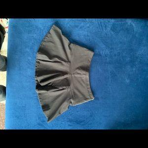 Black mini skirt Aritzia